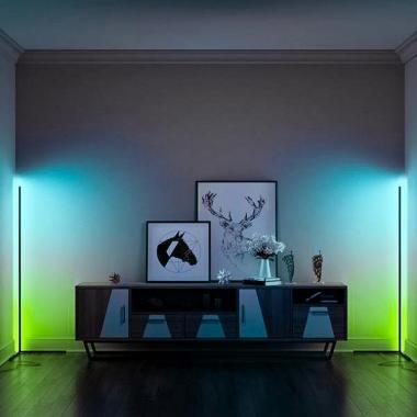 Угловой RGB торшер Ledcube Corner Lamp