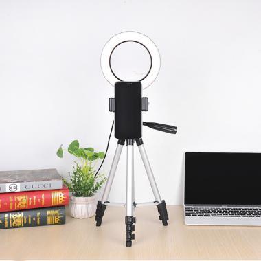 Универсальный штатив со светом Ledcube Selfie Light 110cm