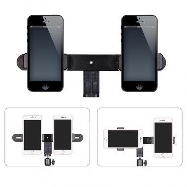 Штатив для двух телефонов Ledcube Double Mount 50-150cm