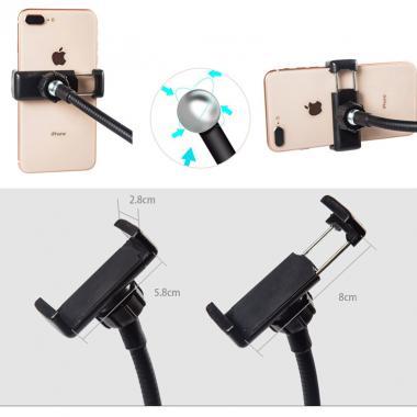 Гибкий штатив для телефона/смартфона со светом Ledcube Flexible Light